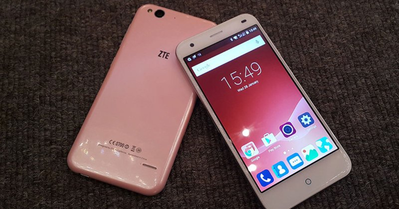phone comes zte blade s6 silver magnetic