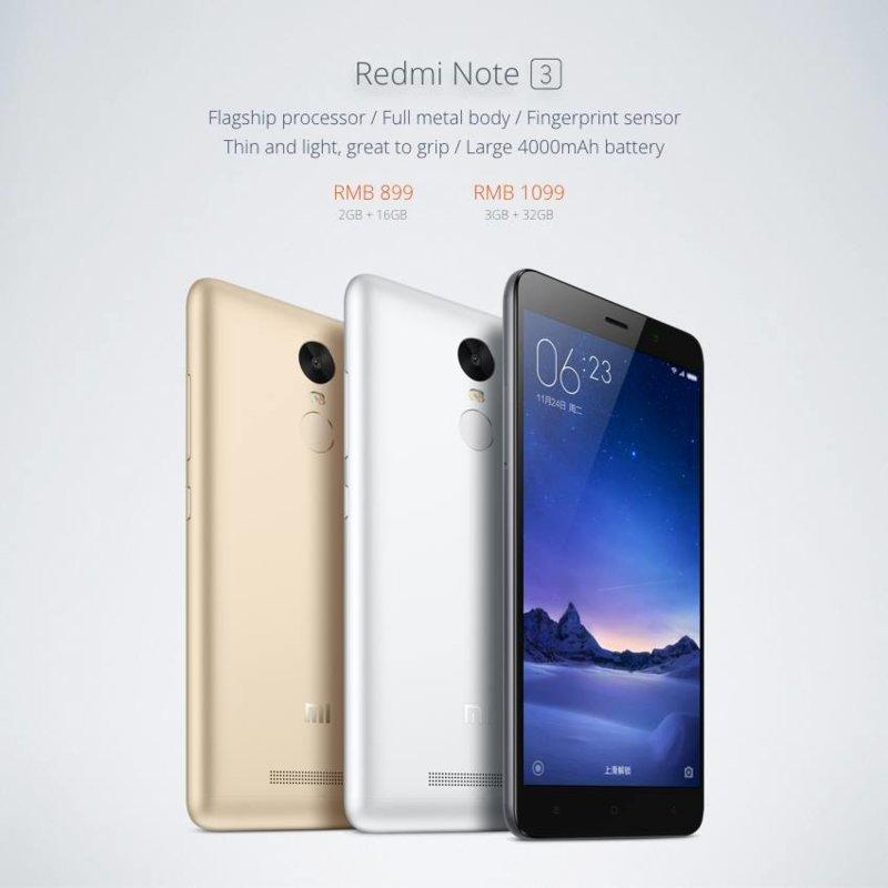 Ou Acheter Xiaomi Redmi Note 3 Pro