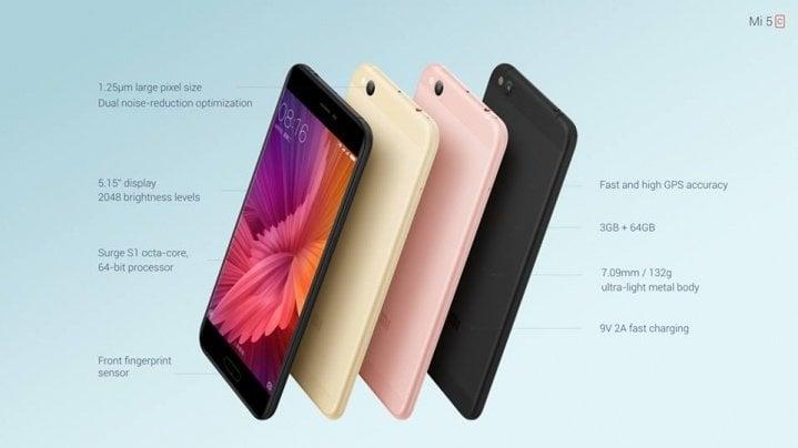 Precio Minimo en esta super oferta para el Xiaomi Mi5C