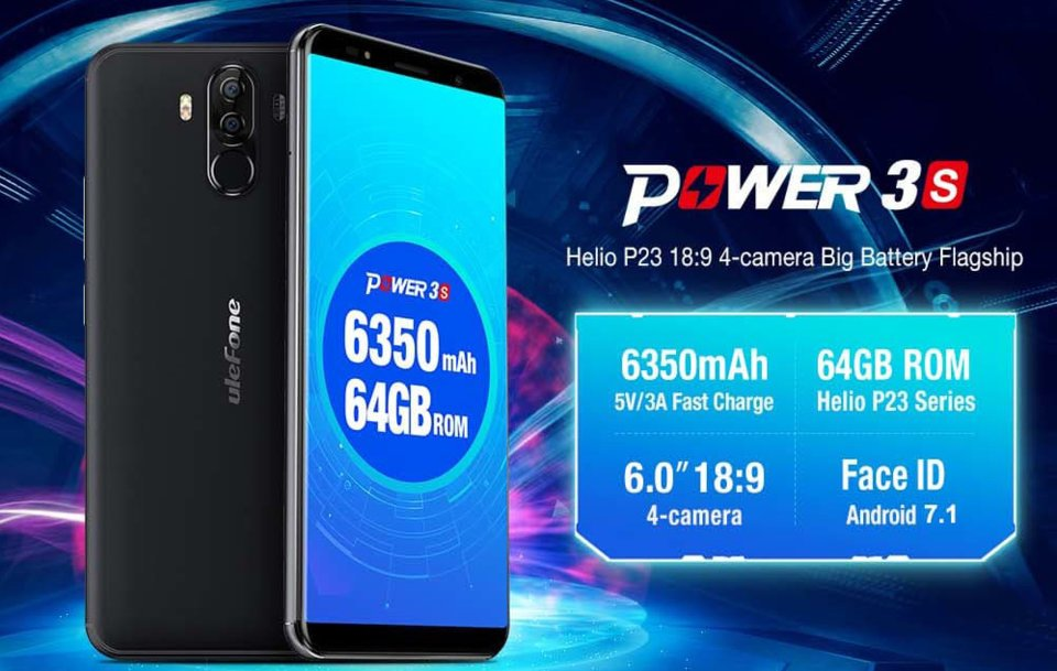 Image result for Ulefone Power 3S