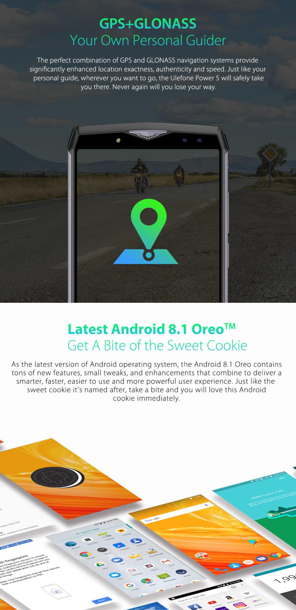 Oukitel K10 VS  Ulefone Power 5: Comparison