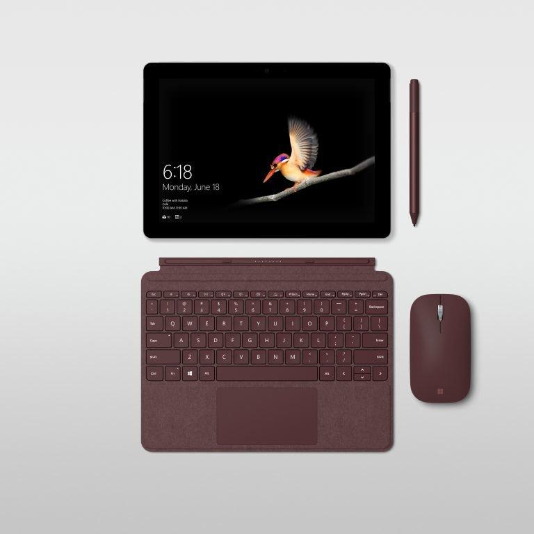 """Microsoft Surface Go 10/"""" Intel Pentium 4415Y 1.6GHz 4GB 64GB Wi-Fi Silver Tablet"""