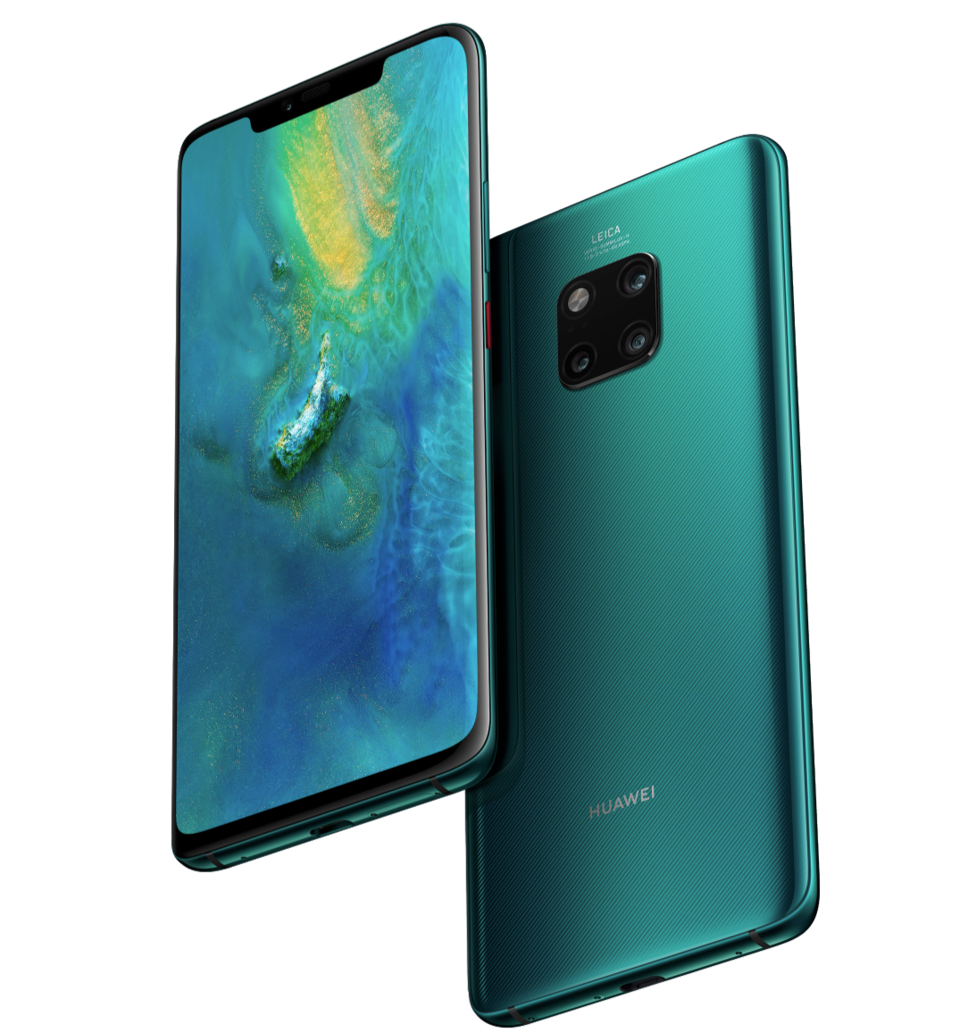 El Huawei Mate 20 x deja chiquitín al iPhone xs Max - YouTube