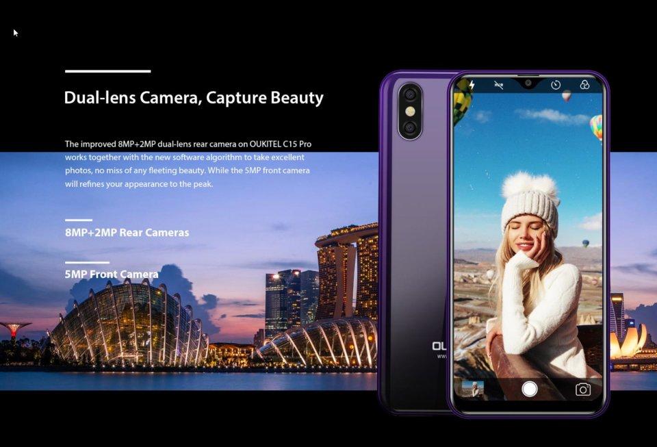 Blackview A60 Pro VS  Oukitel C15 Pro: Comparison