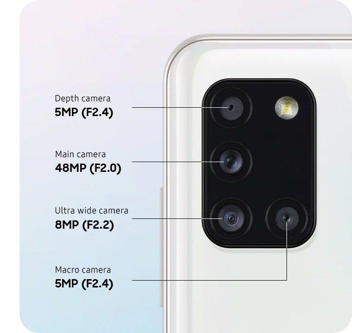 samsung a31 camera