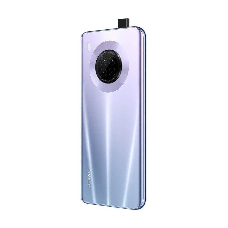 هاتف هواوي واي 9 ايه الذكي، ثنائي شرائح الاتصال، كاميرا 64 ميجا بكسل، شاشة 6.63 انش، ذاكرة رام 128 جيجابايت، 8 رام، بطارية 4200 ملي امبير/ساعة، شاحن سوبرتشارج 40 واط من هواوي