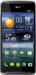 Photos:Acer Liquid E600